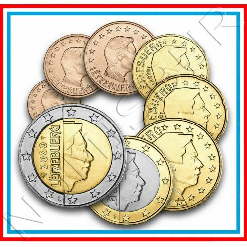 Tira LUXEMBURG 2020 - 8 coins