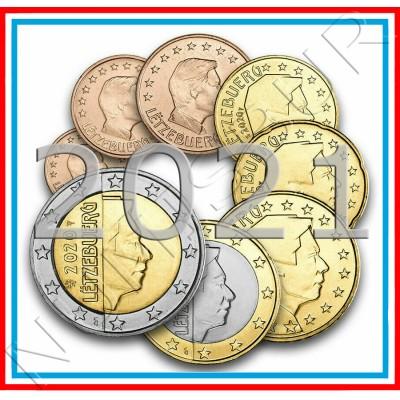 Tira LUXEMBURG 2021 - 8 coins