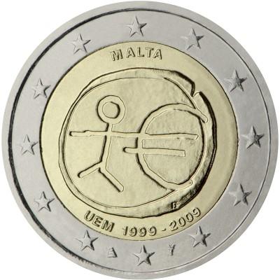 2€ MALTA 2009 - EMU