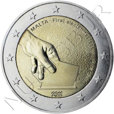 2€ MALTA 2011 - Primeras elecciones