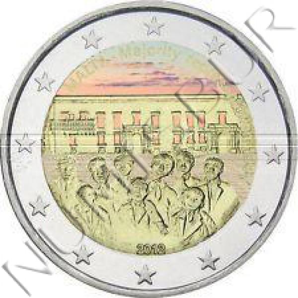 2€ MALTA 2012 - Major Representation 1887