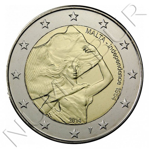2€ MALTA 2014 - Independence