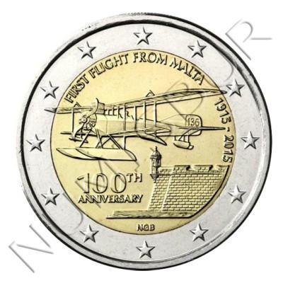 2€ MALTA 2015 -  First flight