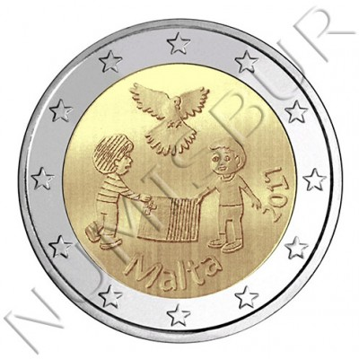 2€ MALTA 2017 - Children and solidarity