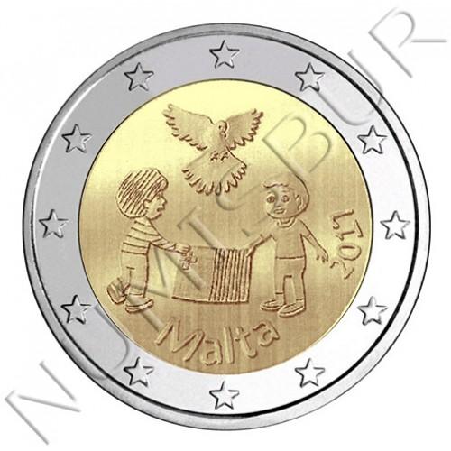 2€ MALTA 2017 - Niños y solidaridad
