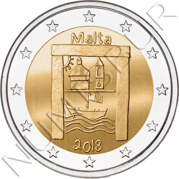 2€ MALTA 2018 - Children and Solidarity