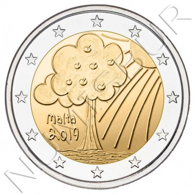 2€ MALTA 2019 - Nature and environment