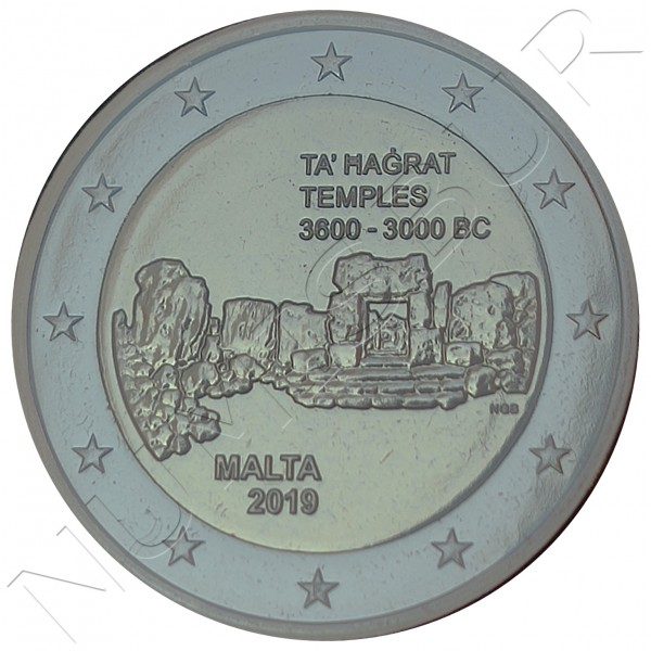2€ MALTA 2019 - Temple Ta' Hagrat