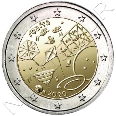 2€ MALTA 2020 - Games