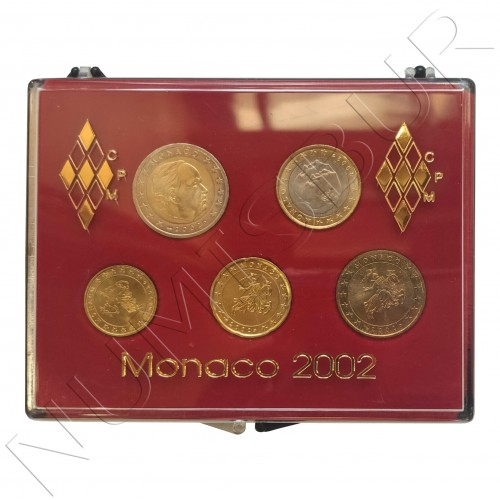 Euroset MONACO 2002 - FDC