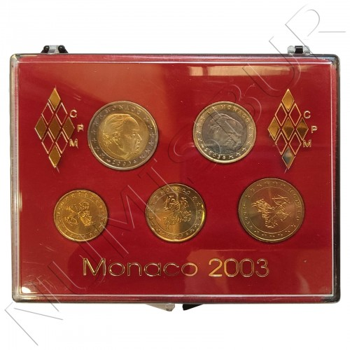 Euroset MONACO 2003 - FDC
