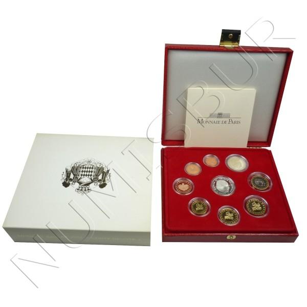 Euroset MONACO 2004 - 5€ Plata PROOF