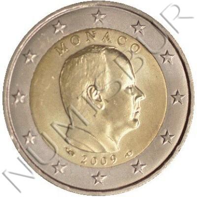 2€ MONACO 2009 - Circulating