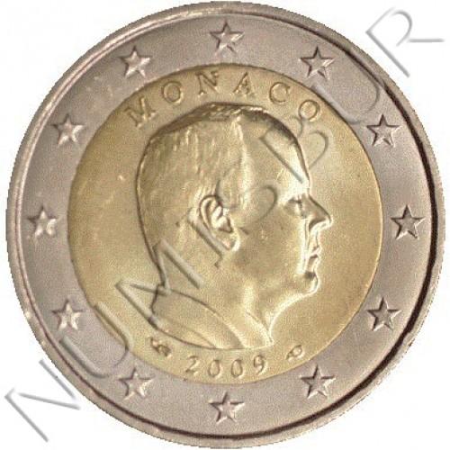 2€ MONACO 2009 - Circulante  MUY RARA