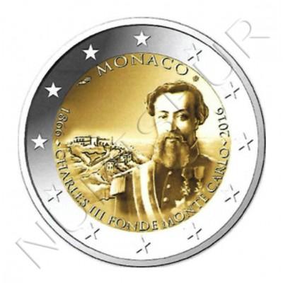 2€ MONACO 2016 - Charles III fonde Monte Carlo