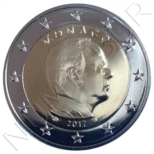 2€ MONACO 2017 - Circulante