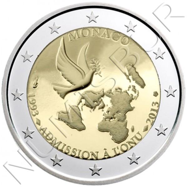 2€ MONACO 2013 - Admision en la ONU