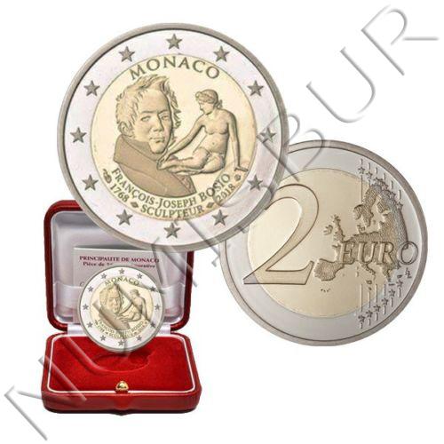 2€ MONACO 2018 - Aniversario del nacimiento FRANÇOIS JOSEPH BOSIO