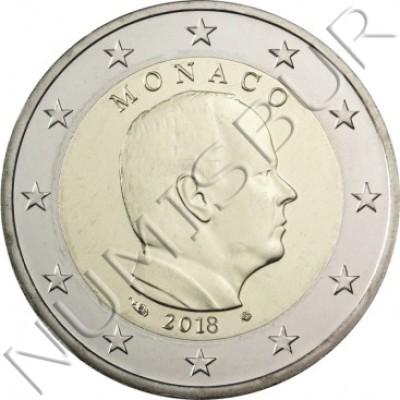 2€ MONACO 2018 - Circulating