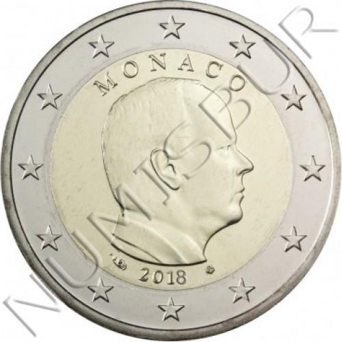 2€ MONACO 2018 - Circulante