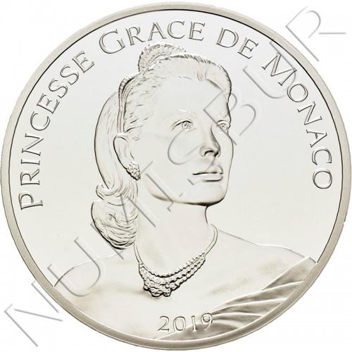 10€ MONACO 2019 - Grace Kelly