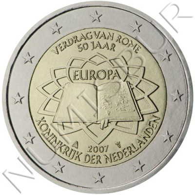 2€ NETHERLANDS  2007 - Trate of rome