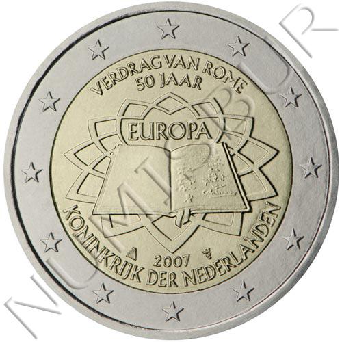 2€ PAISES BAJOS 2007 - Tratado de roma