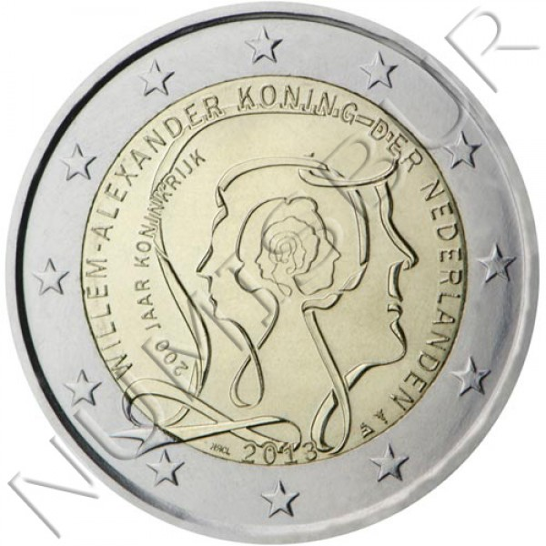 2€ NETHERLANDS  2013 - 200 years of the Kingdom of the Netherlands