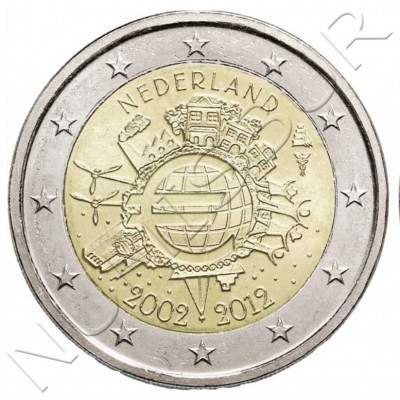 2€ NETHERLANDS  2012 - 200 years of the Kingdom of the Netherlands
