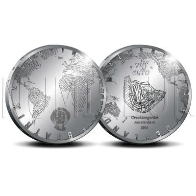 5€ NETHERLANDS 2012 - Brigde