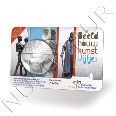 5€ PAISES BAJOS 2012 - Escultura