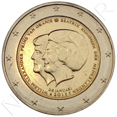 2€ NETHERLANDS 2013 - Queen Beatrice Abdication