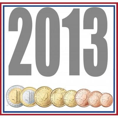 Tira NETHERLANDS 2013 - 8 coins