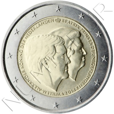 2€ NETHERLANDS  2014 - Guillermo & Beatriz