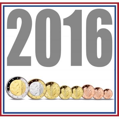 Tira NETHERLANDS 2016 - 8 coins