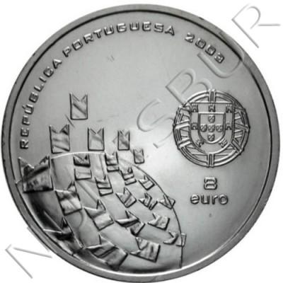8€ PORTUGAL 2003 - Eurocopa '04