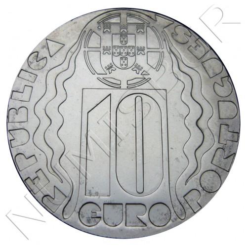 10€ PORTUGAL 2004 - Juegos Olimpicos Atenas