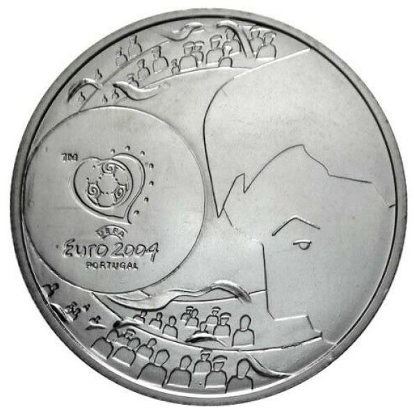 8€ PORTUGAL 2004 - Shot goal