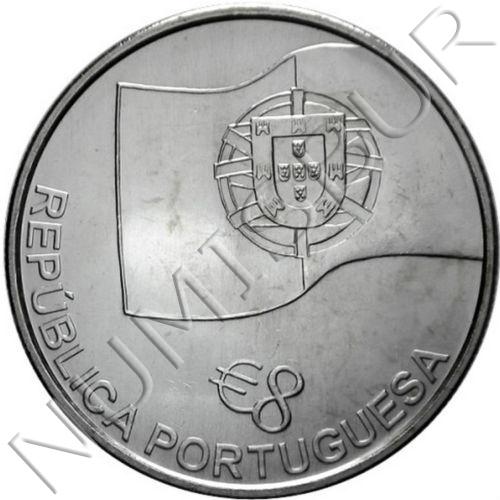 8€ PORTUGAL 2006 - 150 años del ferrocarril