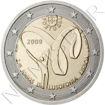 2€ PORTUGAL 2009 - Segundos Juegos de la Lusofonia