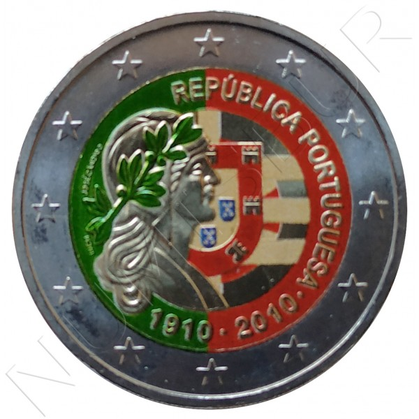 2€ PORTUGAL 2010 - Portuguese Republic 1910