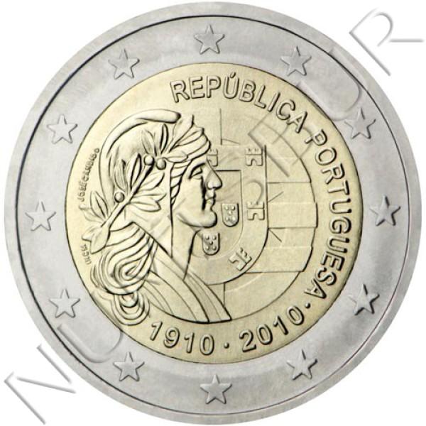 2€ PORTUGAL 2010 - Portuguese Republic 1910