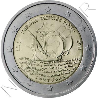 2€ PORTUGAL 2011 - Mendes Pinto