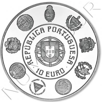 10€ PORTUGAL 2012 - XX aniv. de la Serie Iberoamericana