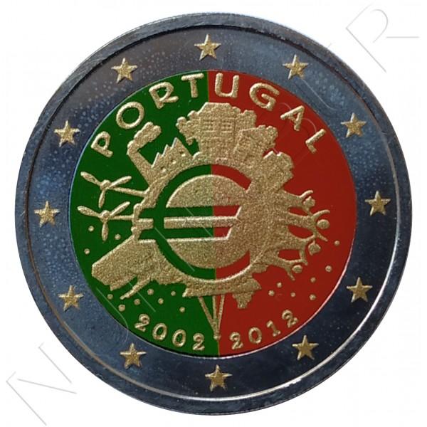 2€ PORTUGAL 2012 - 10º aniv. EURO