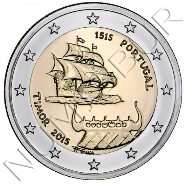 2€ PORTUGAL 2015 - TIMOR