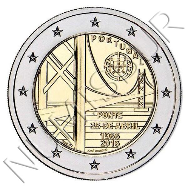 2€ PORTUGAL 2016 - 50 años del puente 25 de abril