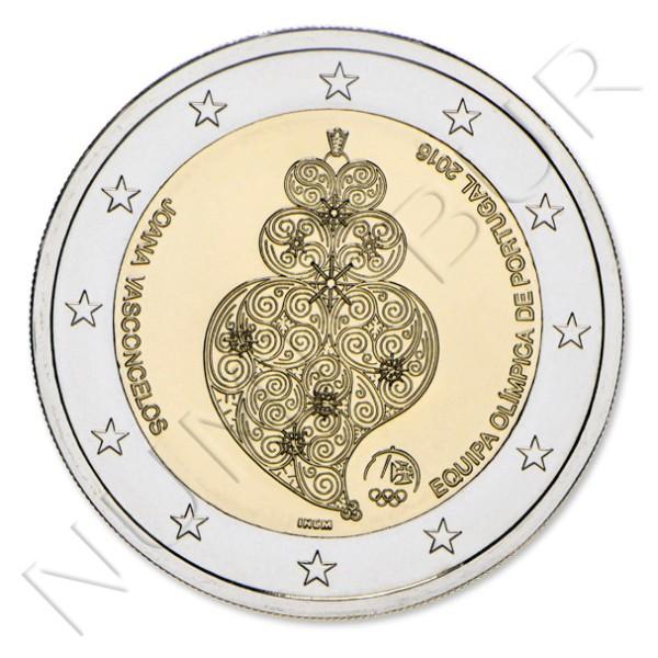 2€ PORTUGAL 2016 - Juegos Olímpicos de Rio