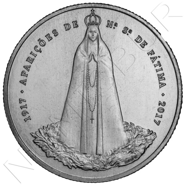 2,5€ PORTUGAL 2017 - Centenario apariciones Fatima