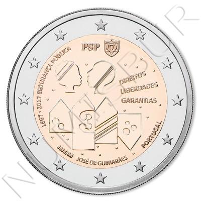 2€ PORTUGAL 2017 - 150 años seguridad publica